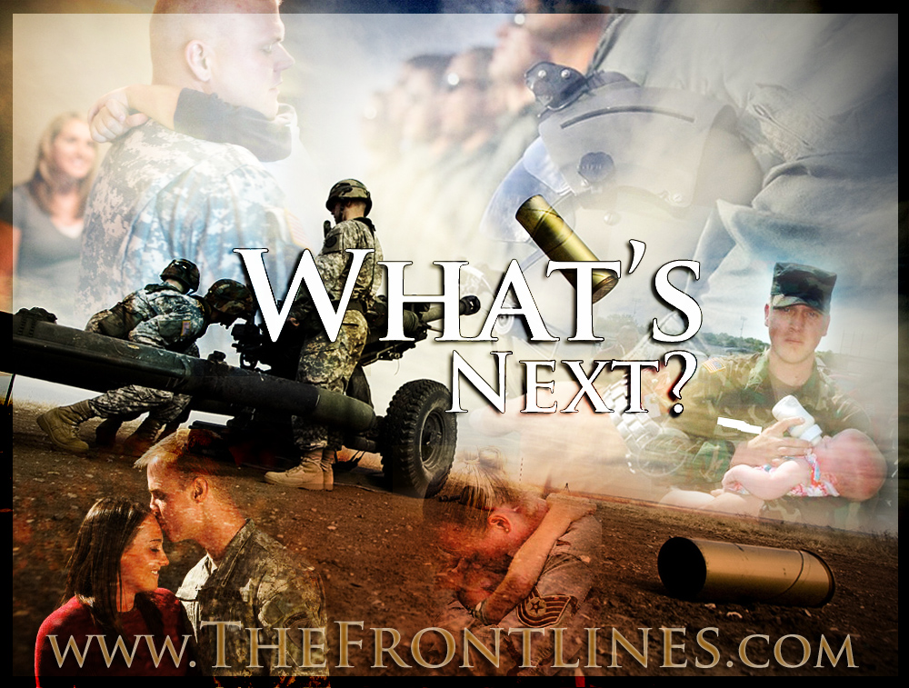 Military service members on the frontlines explain what is next.