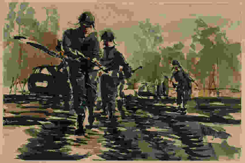 vietnam-war-military-running-blues