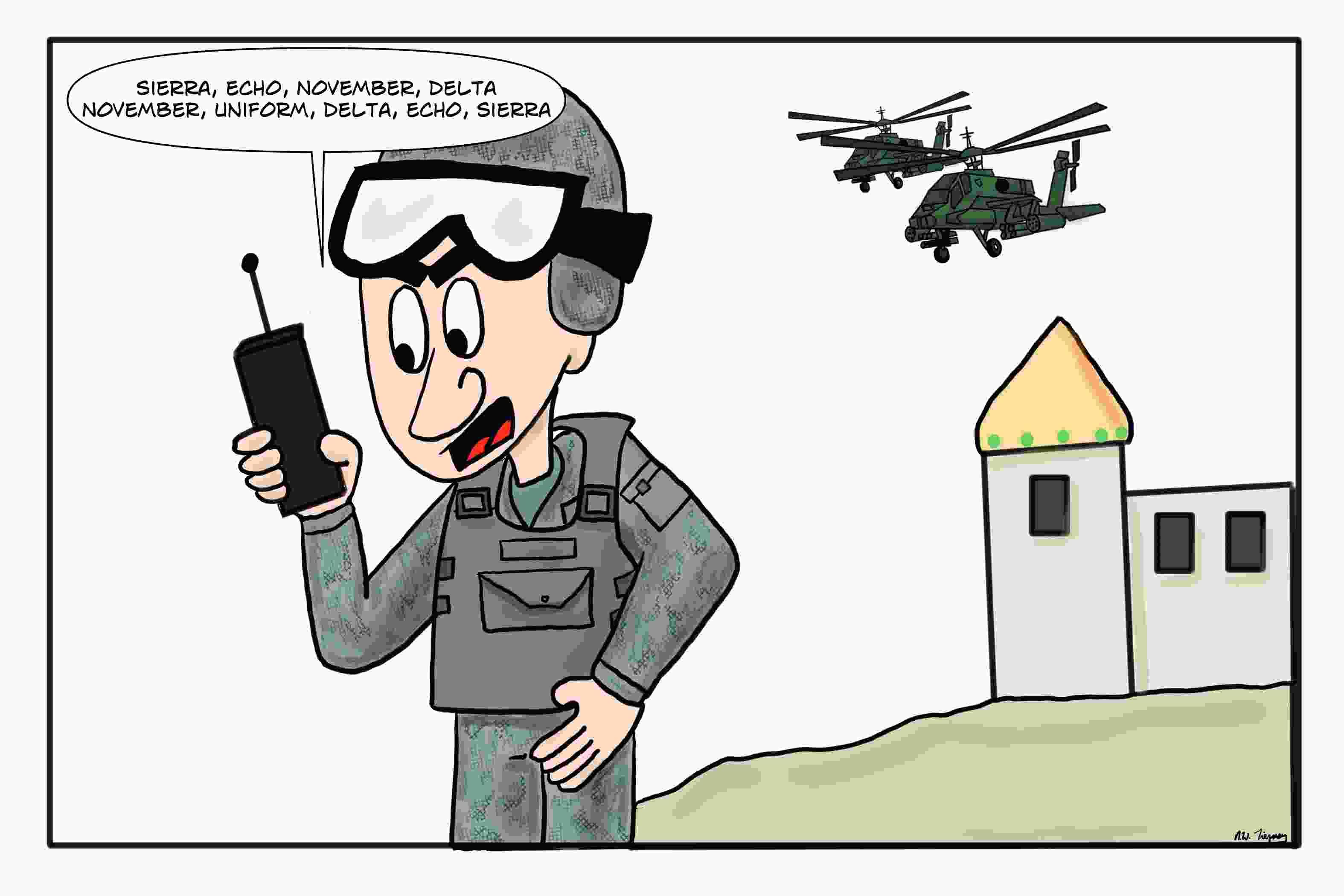 military-alphabet