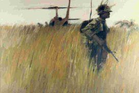 Vietnam-war-landing-zone-soldier