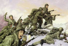 WW2 Soldiers in Snow