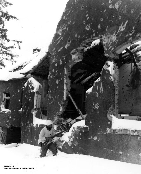 Battle of the Bulge, 1st Infantry Division