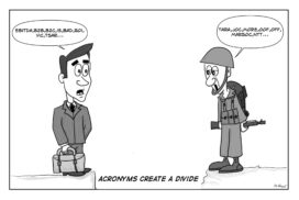 acronyms divide