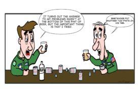 military pints