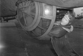 gun turret World War II
