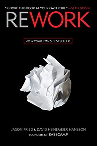 Rework is the best book for those transitioning from the military