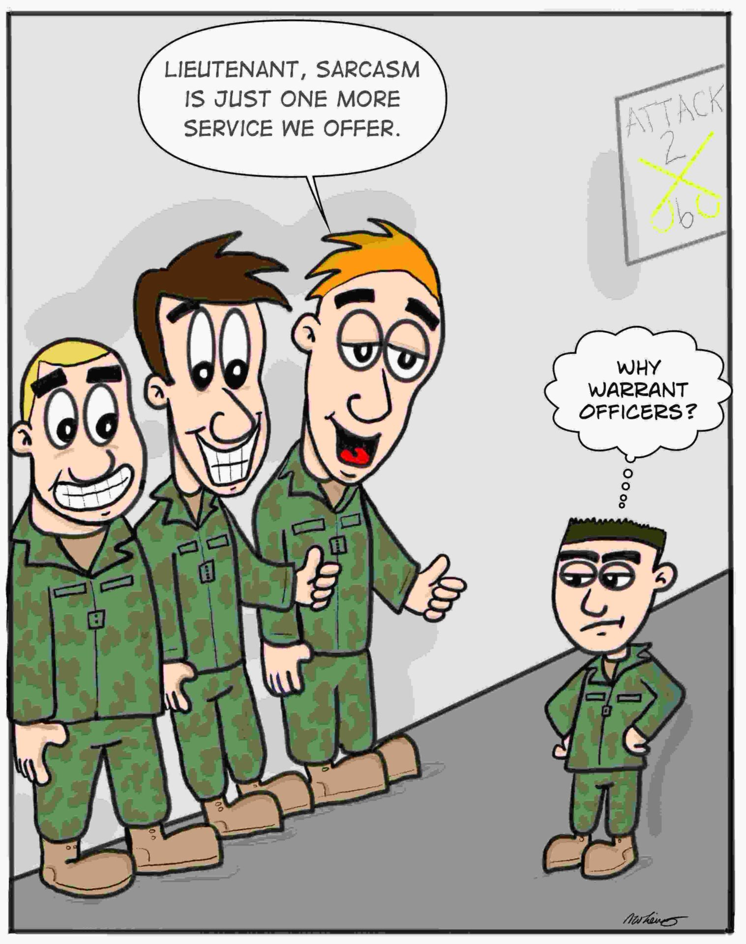 Warrant Officer Sarcasm