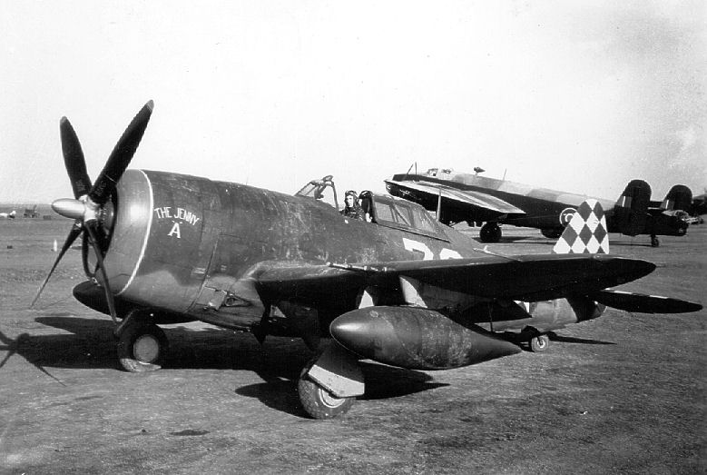 WW2 P47 from 325th fighter group