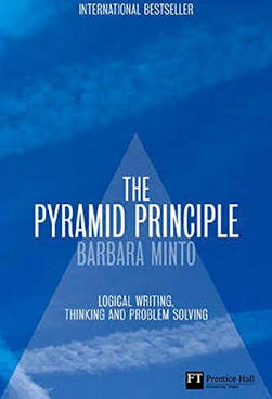 Military applies the pyramid principle to succeed