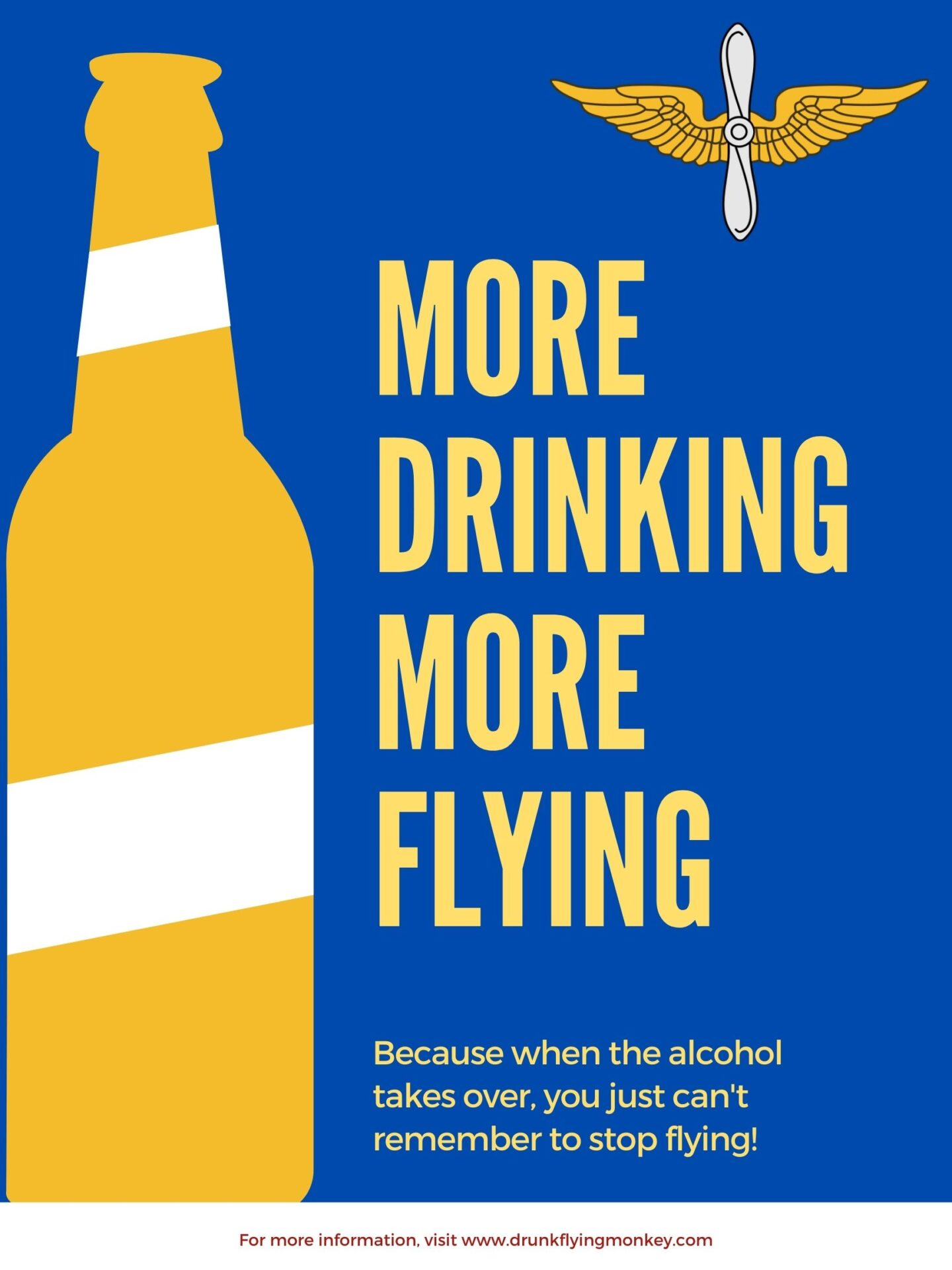 More drinking leads to more flying