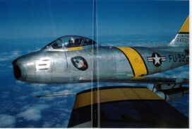 The 4th Fighter Wing F-86 during the Korean War.