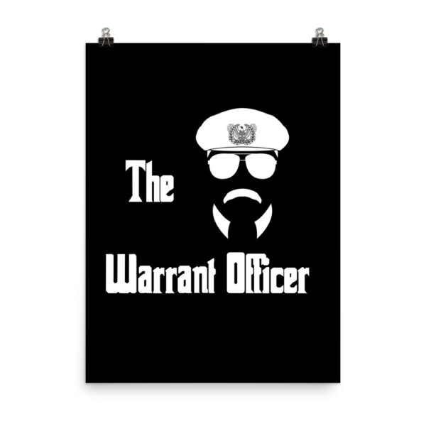 The army warrant Officer is a calm and cool godfather military shirt.