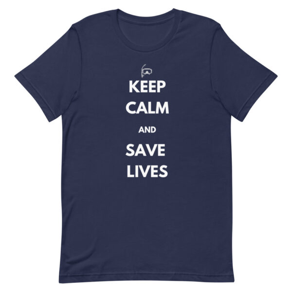 keep calm and save lives is what every first responder does