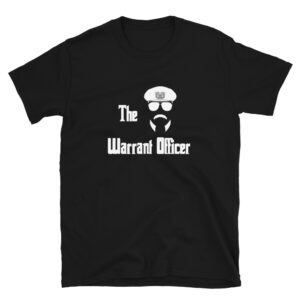 The Army Warrant Officer with the old bus driver hat on with the rising eagle military shirt.