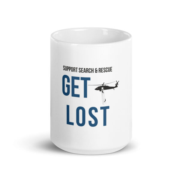 support search and rescue coffee mug