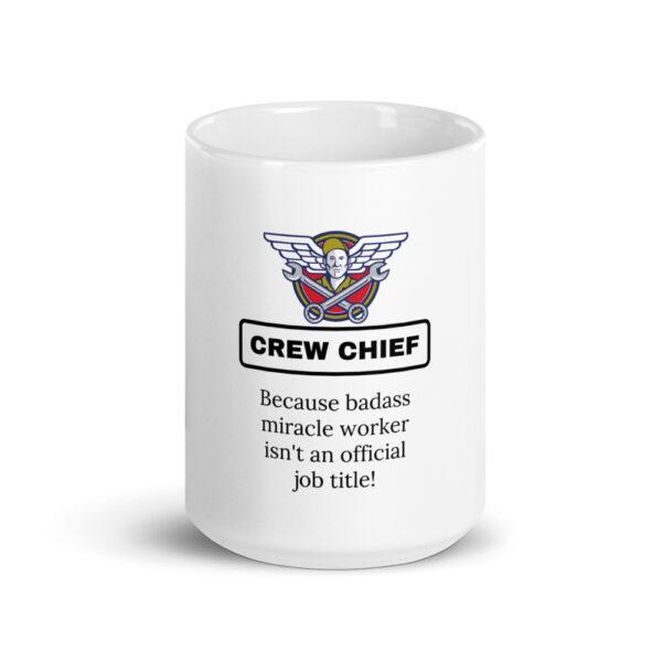 crew chief miracle worker coffee mug