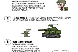 There are ten types of crappy FNGs in the military.