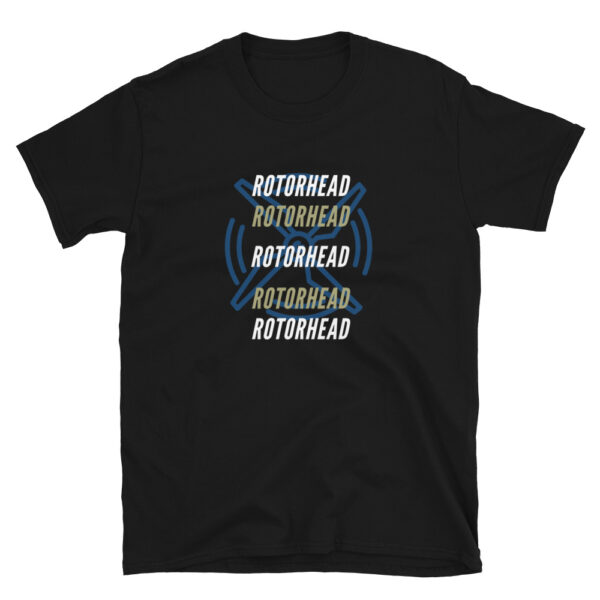 Rotorhead is a black colored shirt is dedicated to all helicopter pilots out there who love rotary aircraft and aviation.