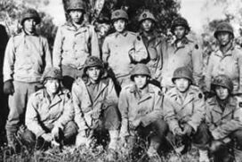 442nd Infantry Regiment consisted of Japanese Americans who fought against the Nazis.