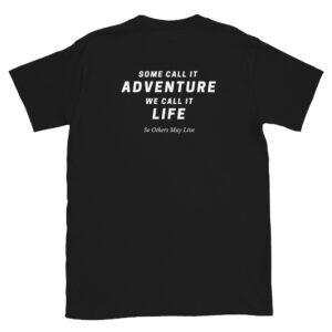 the adventure and life of a rescue swimmer shirt