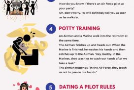7 Air Force funny jokes in the military